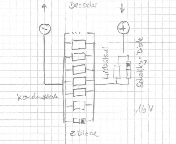 ladeschaltung-kondensatorarray